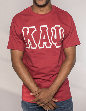 Kappa Alpha Psi Greek Letter Tee