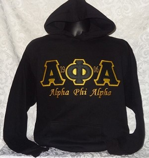 Alpha Phi Alpha Embroidered Hoodie
