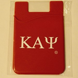 Kappa Alpha Psi Silicone Card Holder
