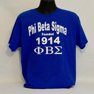 PBS Tee with Fraternity Name - Letters and Year