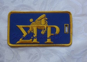 SGRho Embroidered Luggage Tag
