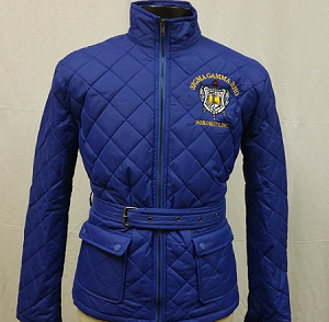 Sigma Gamma Rho Quilted Riding Jacket