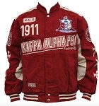 Kappa Alpha Psi Twill Jacket with embroidery
