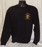 Alpha Phi Alpha Black Embroidered Crew Neck