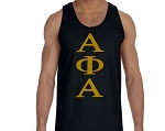 Alpha Phi Alpha Black Greek Letter Tank