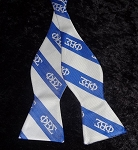 Phi Beta Sigma Greek Letter Bow Tie
