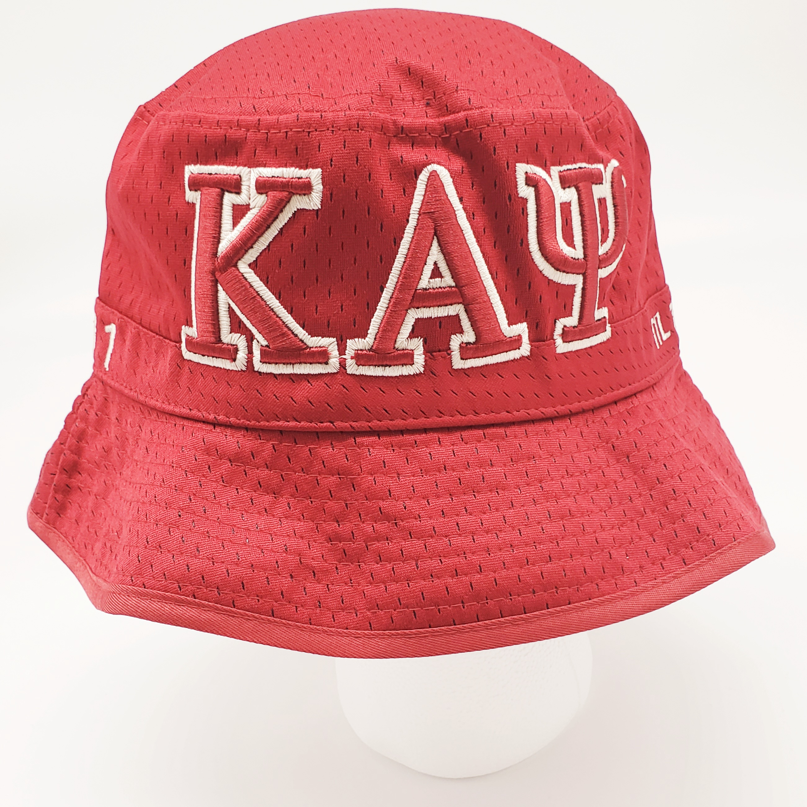 Kappa Alpha Psi Embroidered Krimson Bucket Hat Kapflhat