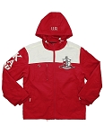 Kappa Alpha Psi Embroidered Windbreaker with Hood