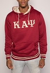 Kappa Alpha Psi Hoodie Krimson with Embroidered letters