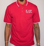 Kappa Alpha Psi Red and White Polo