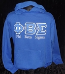 Phi Beta Sigma Embroidered Hoodie