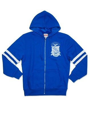 Phi Beta Sigma Zip Up Hoodie