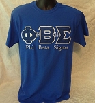 Phi Beta Sigma Embroidered Tee