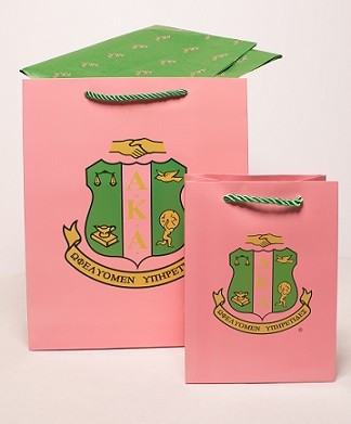 Alpha Kappa Alpha Gift Bag Set