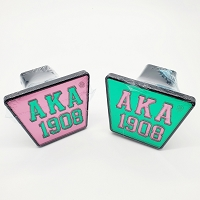 Alpha Kappa Alpha Hitch Cover