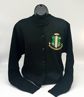 Alpha Kappa Alpha Classic Cardigan with Crest