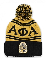 Alpha Phi Alpha Beanie with Shield and Year
