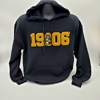 Alpha Phi Alpha Hoodie with Chenille Founding Year