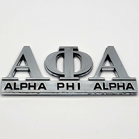 Alpha Phi Alpha Cut-out Auto Emblem