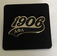 Alpha Phi Alpha Lapel Pin with Year