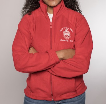 Delta Sigma Theta Fleece Jacket