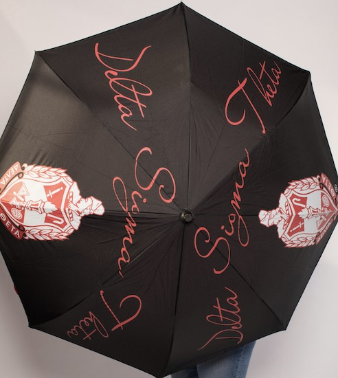 Delta Sigma Theta Inverted Umbrella