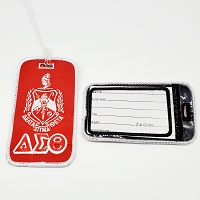 Delta Sigma Theta Embroidered Luggage Tag