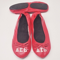 Delta Sigma Theta Foldable Shoes