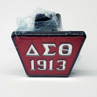 Delta Sigma Theta Trailer Hitch Cover