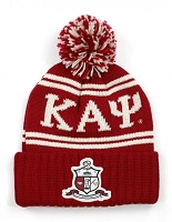 Kappa Alpha Psi Beanie with Greek Letters and More