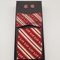Kappa Alpha Psi Silk Bow Tie Set