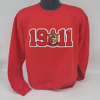Kappa Alpha Psi Crew Neck with Year in Chenille