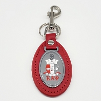 Kappa Alpha Psi Leather Key Chain