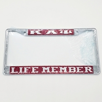 Kappa Alpha Psi Life Member License Frame