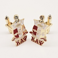 Kappa Alpha Psi Shield Cuff Links
