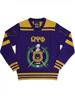 Omega Psi Phi V-Neck Sweater