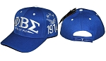 Phi Beta Sigma Embroidered Baseball Cap