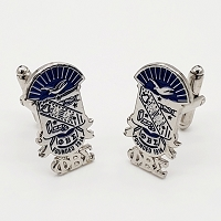 Phi Beta Sigma Shield Cuff Links