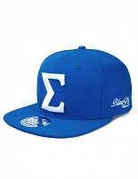 Phi Beta Sigma Snap Back Cap with Letter