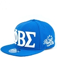 Phi Beta Sigma Snap Back Cap