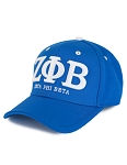 Zeta Phi Beta Embroidered Baseball Cap