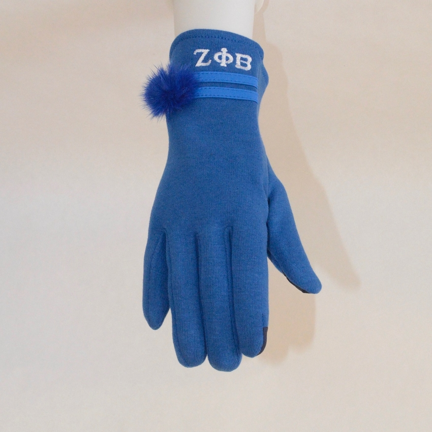 Zeta Phi Beta Gloves