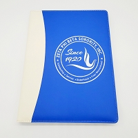 Zeta Phi Beta Padfolio with note pad