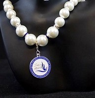 Zeta Phi Beta Pearl Necklace