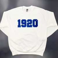 Zeta Phi Beta Crew Neck with Chenille Founding Year