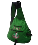 Alpha Kappa Alpha Sling Bag with embroidery