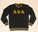 Alpha Phi Alpha Embroidered Crew Neck Shirt