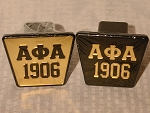 Alpha Phi Alpha Trailer Hitch Cover