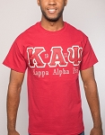 Kappa Alpha Psi Embroidered Krimson Tee