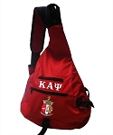 Kappa Alpha Psi Sling Bag with embroidery